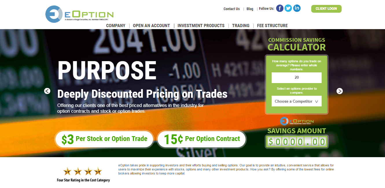 Cheapest option trading platform